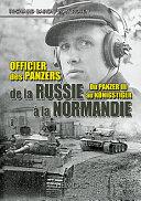 Officier Des Panzers de la Russie a la Normandie PDF