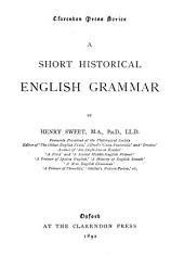 A Short Historical English Grammar