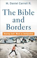 The Bible and Borders PDF