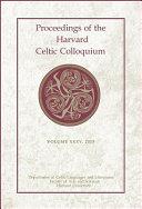 Proceedings of the Harvard Celtic Colloquium  35  2015 PDF