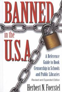 Banned in the U S A  Book