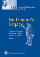 Boltzmann s Legacy PDF