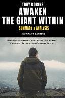 Tony Robbins  Awaken the Giant Within Summary and Analysis