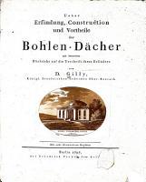 Ueber Erfindung  Construction und Vortheile der Bohlen D  cher PDF