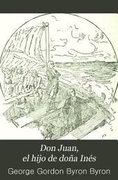 Don Juan, el hijo de doña Inés: poema