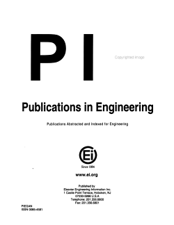 Publications in Engineering PDF