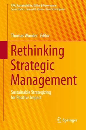 Rethinking Strategic Management PDF