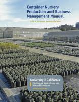 Container Nursery Production and Business Management Manual PDF
