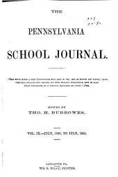 Pennsylvania School Journal: Volume 9