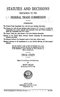 Statutes and Court Decisions  Federal Trade Commission PDF