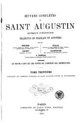 Œuvres complètes de Saint Augustin: Volume30
