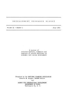 Development Digest PDF