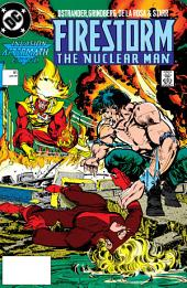 Firestorm: The Nuclear Man (1987-) #81