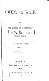 Owen: a Waif: Volume 1