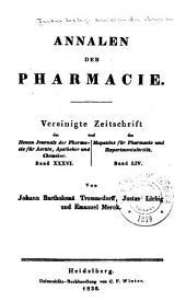 Justus Liebig's Annalen der Chemie: Bände 19-20