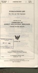 Publications List