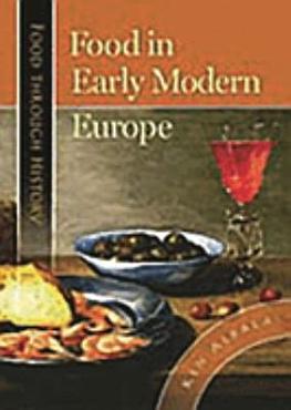 Food in Early Modern Europe PDF