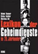 Lexikon der Geheimdienste im 20  Jahrhundert PDF