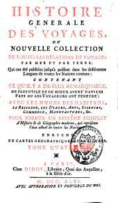 Histoire générale des voyages: Volume4