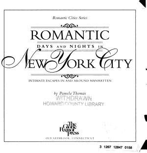 Romantic Days and Nights in New York City PDF