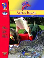 Abel s Island Lit Link Gr  4 6 PDF