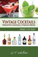 Vintage Cocktails PDF