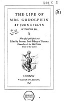 The Life of Mrs  Godolphin  Now First Published and Ed  by Samuel  Lord Bishop of Oxford PDF