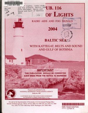 List of Lights  Radio Aids  and Fog Signals