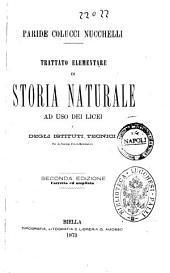 Trattato elementare di storia naturale ad uso dei licei e degli istituti tecnici Paride Colucci Nucchelli