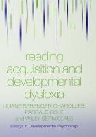 Reading Acquisition and Developmental Dyslexia PDF