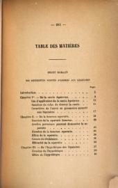 De la Stipulation et du legs annuels, en droit romain: De la rente viagère spécialement dans ses rapports avec le régime de communauté légale en droit français