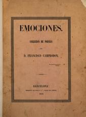 Emociones: colección de poesias