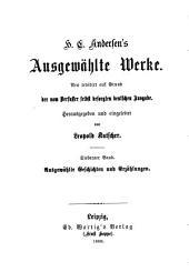 H.C. Andersen's Ausgewählte Werke: Neuübersetzt auf Grund der vom Verfasser selbst besorgten deutschen Ausgabe, Bände 7-8