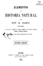Elementos de historia natural