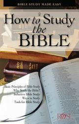 How To Study The Bible Book PDF
