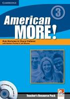 American More  Level 3 Teacher s Resource Pack with Testbuilder CD ROM PDF