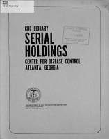Serial Holdings PDF
