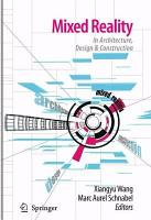 Mixed Reality In Architecture  Design  And Construction PDF