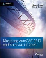 Mastering AutoCAD 2019 and AutoCAD LT 2019 PDF