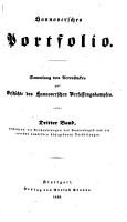 Hannoversches Portfolio  Sammlung von Actenat  cken sur Geschichte des Hannoverschen Verfassungkampfes PDF