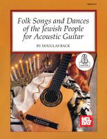 Folk Songs and Dances of the Jewish People for Acoustic Guitar PDF