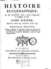 Histoire ecclésiastique: Volume6