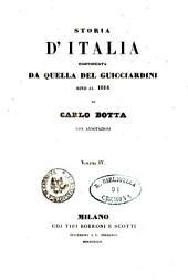 Storia d'Italia continuata da quella del Guicciardini sino al 1814: 4