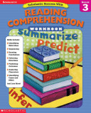Scholastic Success With Reading Comprehension Book PDF