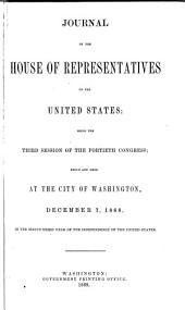Journal of the House of Representatives of the United States: Volume 40, Issue 3