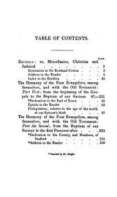 The Whole Works of the Rev. John Lightfoot: Master of Catharine Hall, Cambridge, Volume 4