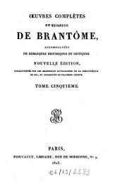 Oeuvres Complètes: accompagnées de remarques historiques et critiques, Volume5