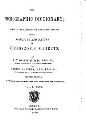 The Micrographic Dictionary PDF