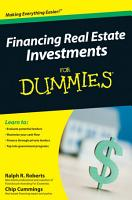 Financing Real Estate Investments For Dummies PDF