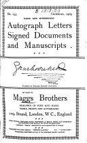 Maggs Bros  Catalogues